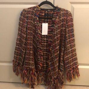 Zara quilt blazer